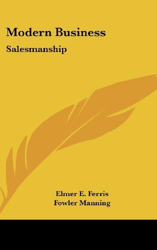 Modern Business: Salesmanship