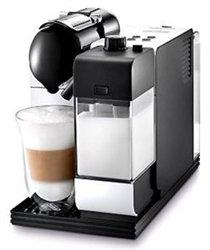DeLonghi White Lattissima Plus Nespresso Capsule System