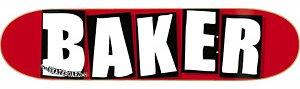 スケートボード BAKER TEAM Brand Logo White