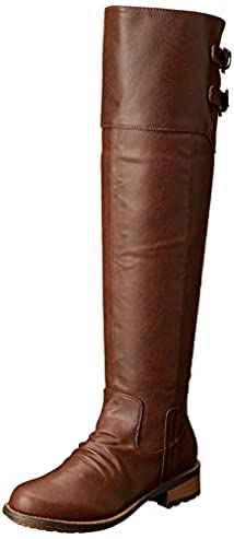 Qupid Women's Relax-01X Riding Boot
