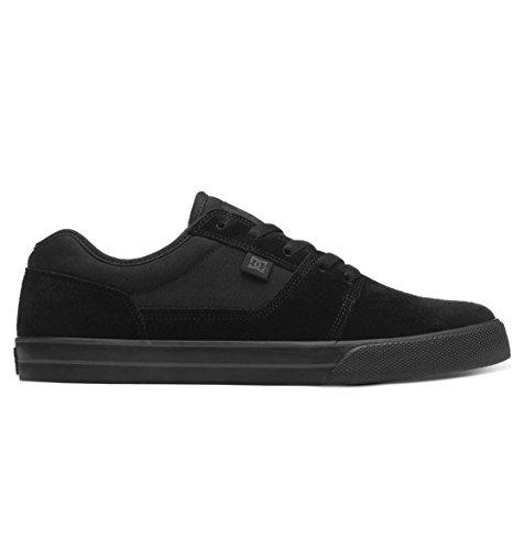 DC Men's Black Tonik Skate Shoe, Black/Black, 9 M US