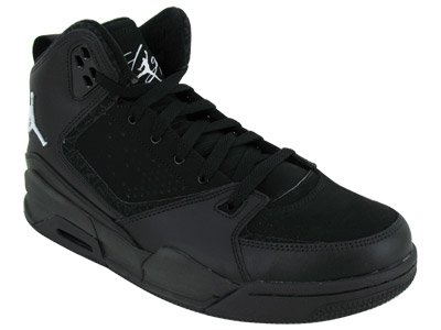 Nike Men's NIKE JORDAN SC-2 BASKETBALL SHOES 12 (BLACK/WHITE/BLACK)