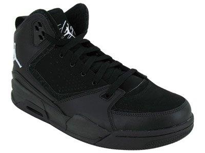 Nike Men's NIKE JORDAN SC-2 BASKETBALL SHOES 12 (BLACK/WHITE/BLACK)