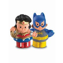 Little People DC Super Friends~Wonder Woman & Batgirl Figure Pack - 1