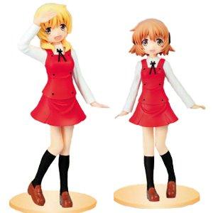 ひだまりスケッチ×ハニカム コレクションフィギュア1 ゆの ・ 宮子 全2種セット