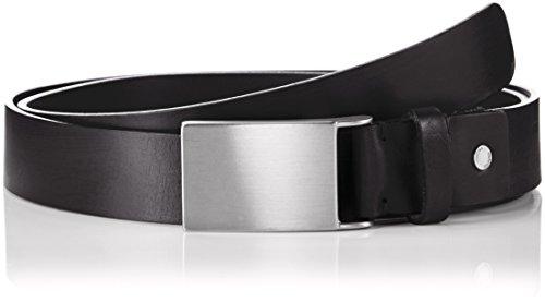 SELECTED HOMME Shdplate Belt Noos, Cintura Uomo, Nero (Black), XL (Taglia Produttore: 105)