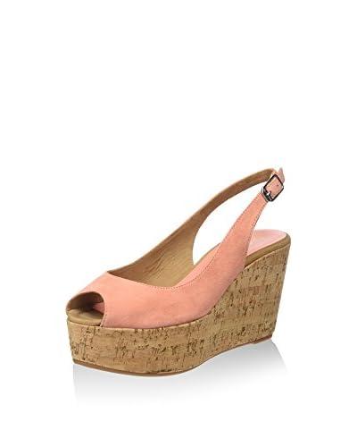 Unisa Keil Sandalette rosa