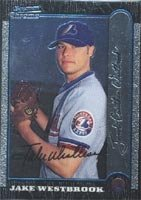 Jake Westbrook Jupiter Hammerheads - Expos Affiliate 1999 Bowman Chrome Autographed... by Hall of Fame Memorabilia
