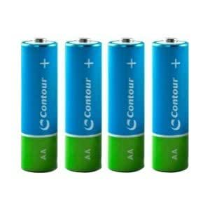 Contour Worlds Best Rechargeable Batteries - 4 x AA Pre-Charged