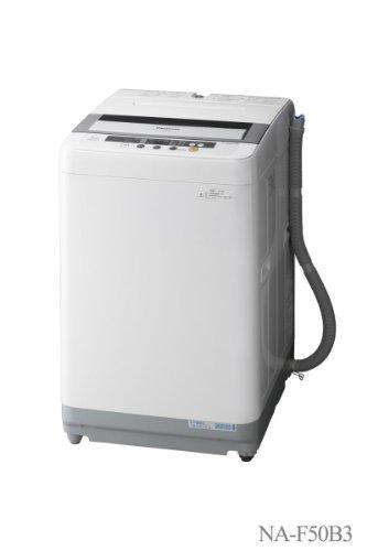 【Amazonの商品情報へ】Panasonic 洗濯・脱水容量5.0kg 全自動洗濯機 グレー NA-F50B3-H