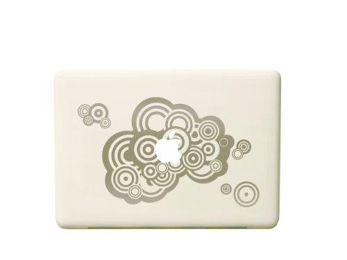 macbook用ステッカー Cloud/シルバー iPad用近日発売! 送料無料!