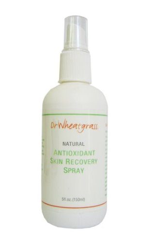 Dr Wheatgrass Antioxidant Skin Recovery Spray 175Ml - Great For Anti-Aging, Eczema, Molluscum, Acne, Hair Loss And Many Other Skin Conditions
