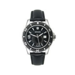 Wenger by Swiss Army Knife 70365 Ladies Sport Black Dial Strap Watch