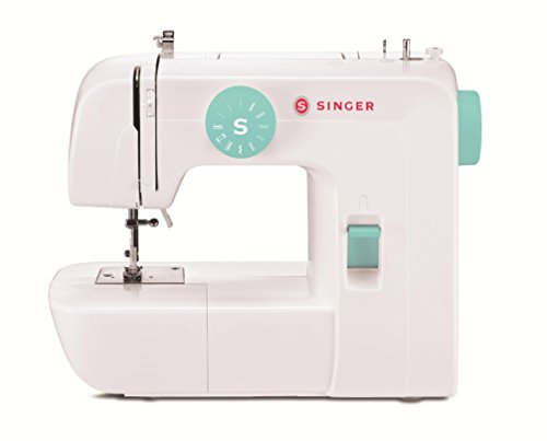 SINGER 1234 Sewing Machine with Free Online Owner's Class and Tote Bag Project, White/Teal (Sew And Sew Sewing Machine compare prices)