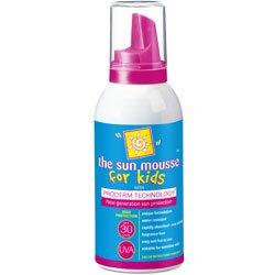 Proderm Kids Sun Mousse For Sensitive Skin 30spf