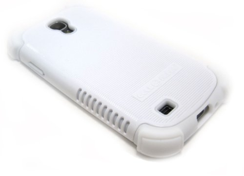 Cell-Nerds Nerdshield Grip Case Cover For The Samsung Galaxy S4 - Cell-Nerds Packaging (White)