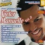 echange, troc Karaoke - Latin Stars Karaoke: Victor Manuelle, Vol. 2