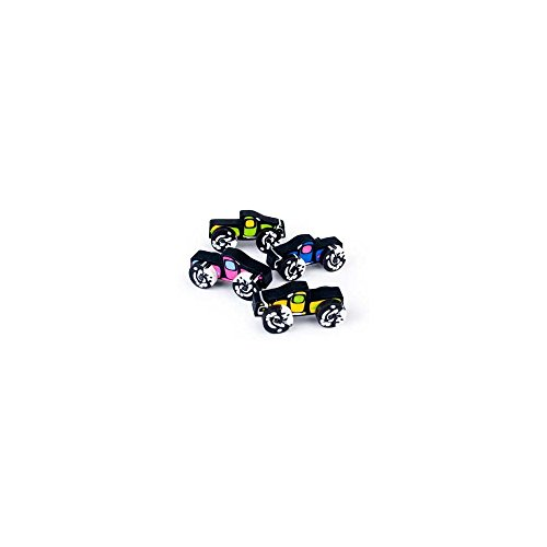 "Fun Express - Monster Truck Erasers (12 Pack), 2"" x 1"""