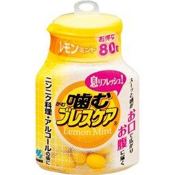 小林 噛むブレスケア ボトル レモンミント 80粒