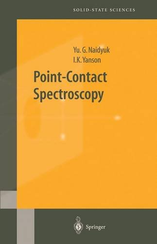Point-Contact Spectroscopy (Springer Series in Solid-State Sciences)