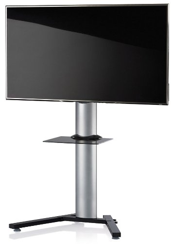 Meubles tv vcm 17035 stadino mini 1 meuble tv aluminium for Mini meuble tv