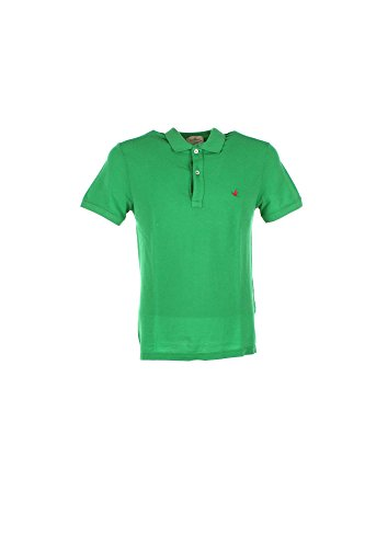 Polo Uomo Brooksfield 201A.A001 Verde Primavera/Estate Verde 58
