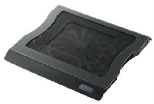 ELECOM 冷え冷えクーラー 大型静音ファン 12.1~15.4インチW対応 ブラック SX-CL10BK