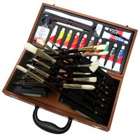 Royal Oil Supreme Box Brush Artist Paint Set