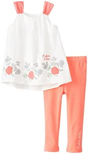 Calvin Klein Baby-Girls Infant Tunic with Leggings from Calvin Klein