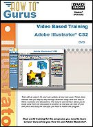 Adobe Illustrator CS2 & CS3 Tutorial Training on 2 DVDRom. Over 21 hours of video training in 288 lessons, new computer software instruction
