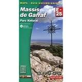 Massis Del Garraf 1:25.000