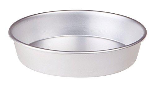 Pentole Agnelli Tortiera Conica con Orlo, Altezza 6 cm, Alluminio, Argento, 26 cm