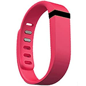 Replacement Wrist Band for Fitbit Flex (Magenta, Small)