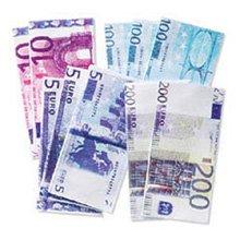 Jolee's Boutique Dimensional Sticker, Euro Bills