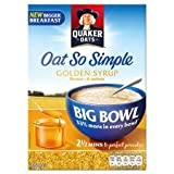 Quaker Oats Oat So Simple Golden Syrup Big Bowl 397G