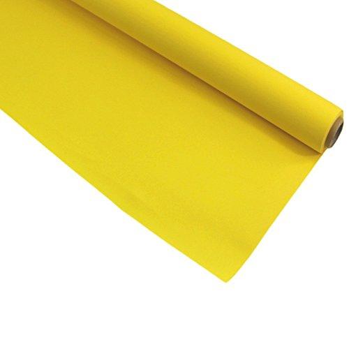 Duni Tischdeckenrolle Tischdecke 1,25 x 5m Fest Tisch versch. Farben Dunicel, Farbe:Gelb