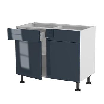 Pas cher atelier du menuisier meuble cuisine bas 100cm for Atelier du meuble