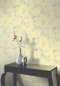 Opera Chinoise Wallpaper - Yellow by New A-Brend