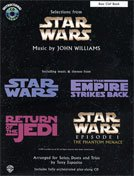Alfred Publishing 00-If9919Cd Selections From Star Wars - Music Book front-1029802