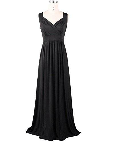 Medeshe Women's Green Long Formal Maxi Dress Gown Plus Size
