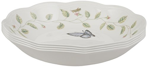 Lenox Butterfly Meadow Individual Pasta Bowls, Set of 4 (Lenox Pasta Set compare prices)