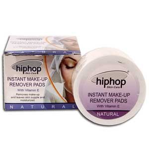 Hiphop Skin Care Instant Makeup Remover 30 wipes