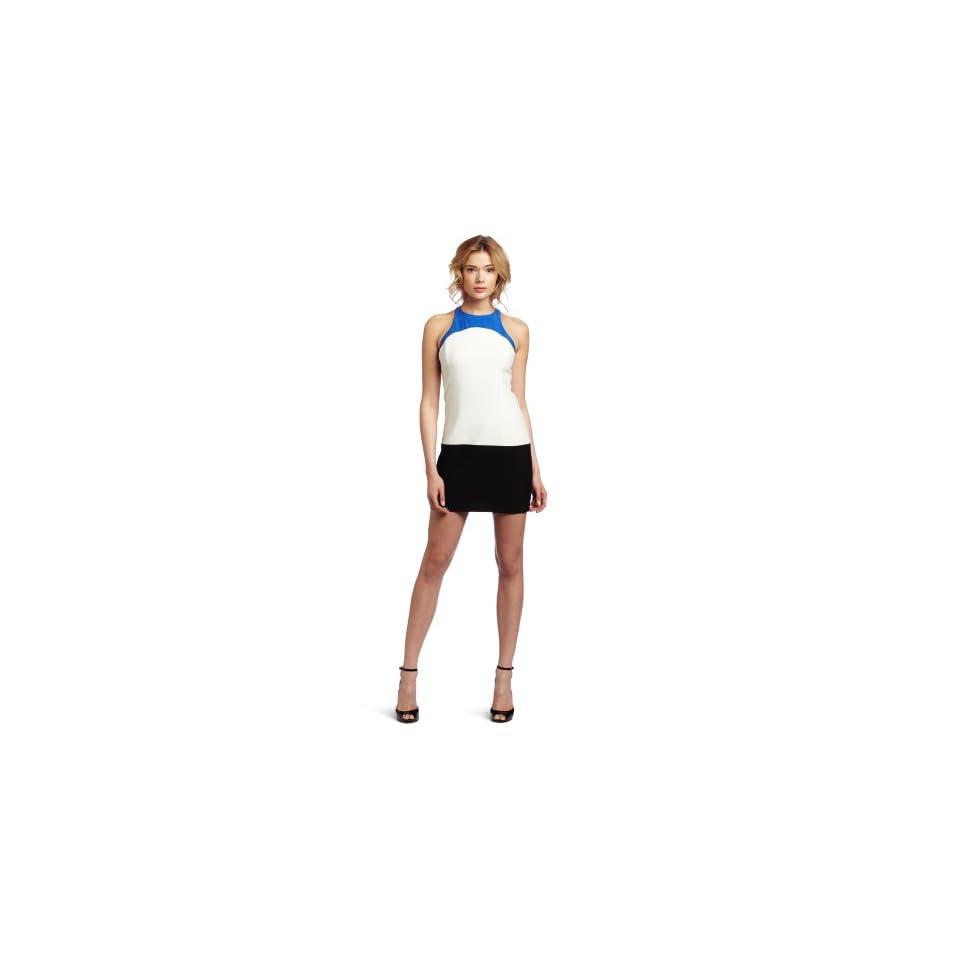 ABS by Allen Schwartz Womens Color Block Sheath Dress