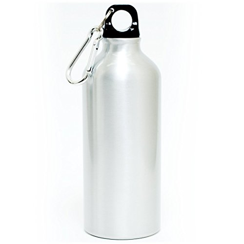 500 mL ( 16.9 fluid ounce ) Aluminum Sports Water Bottle , Metallic Finish (Aluminum Drinking Bottle compare prices)