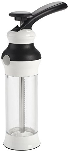 OXO Good Grips Cookie Press with Stainless Steel Disks and Storage Case (Metal Cookie Press compare prices)