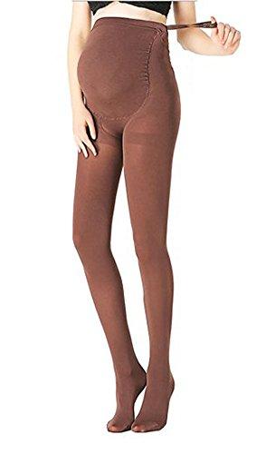 KOOYOL Adjustable Maternity Pantyhose Opaque Tights Leggings 180D (5 COLORS)