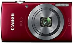 Canon IXUS 160 Point and Shoot Digital Camera - Red