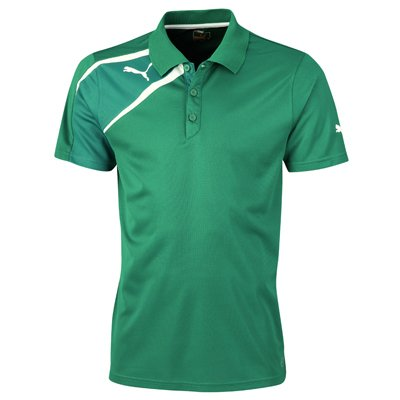 Puma Spirit Mens Training Polo Tee Shirt Green Size XL from Puma