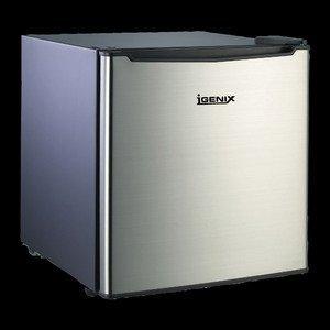 igenix ig6700 47l counter top fridge with lock stainless. Black Bedroom Furniture Sets. Home Design Ideas