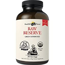 Amazing Grass - Green Superfood Raw Reserve 8.5 Oz